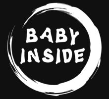 "Maternity ""Baby Inside"" Zen by FamilyT-Shirts"