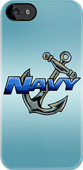 Navy Anchor (Colored Pencil) by screamingtiki