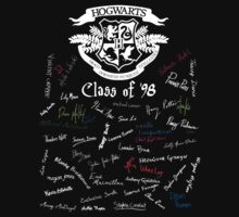 Class of '98 (on black) by huckblade