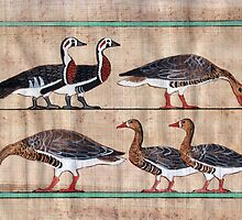 Atet's Geese by Aakheperure