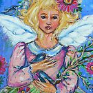 BLACK EYED SWEETPEAS ANGEL by kimberlysdream