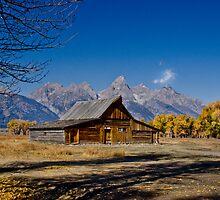 Mormon Row Barn by Robert H Carney