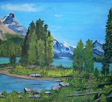 Spirit Island by Teresa Dominici