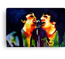 John and Paul Shea Stadium Canvas Print