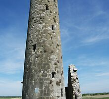 Temple Finghin, Clonmacnoise by Elmacca