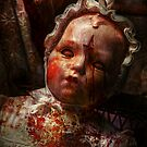 Creepy - Doll - It&#x27;s best to let them sleep  by Mike  Savad