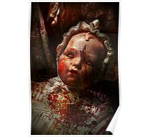 Creepy - Doll - It's best to let them sleep  Poster
