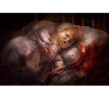 Creepy - Doll - Pleasant Dreams  Photographic Print