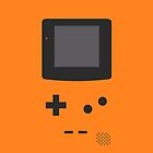 Gameboy Iphone Case Orange by triforce15
