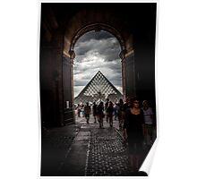 Pyramide du Louvre, Louvre Pyramid Poster