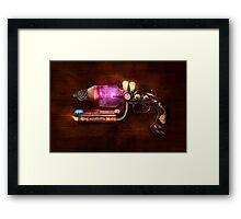 Steampunk - Gun -The neuralizer Framed Print