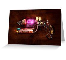 Steampunk - Gun -The neuralizer Greeting Card