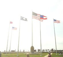 The Flags of Fort Sumter by travisferrell