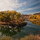 Truckee River in Autumn by Kurt Golgart