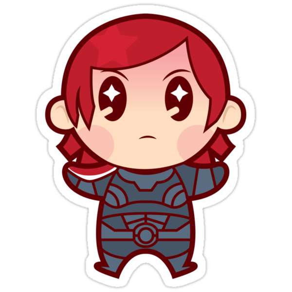 Commander FemShep by DisfiguredStick