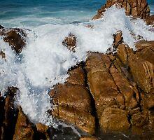 Granite Coast line, Tasmania by Kelly Slater