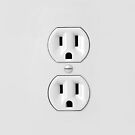 Funny Electrical Outlet Phone Cases by avdesigns