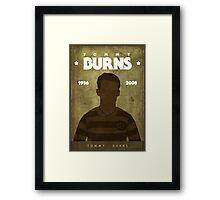 Tommy Burns Framed Print
