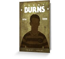 Tommy Burns Greeting Card
