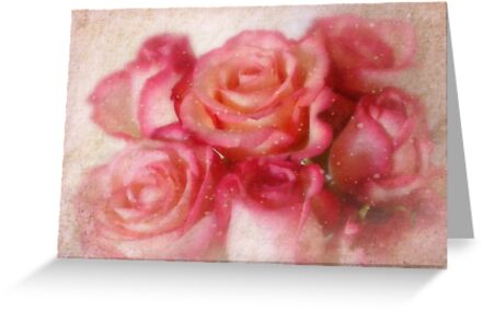 Because you're a beautiful person,  I wanted to send some pink roses to you. by Yool