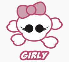Girly Skull - Girly by timageco