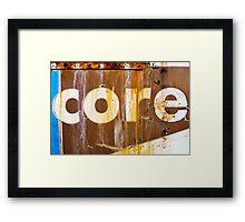 core Framed Print