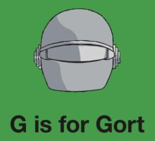 G is for Gort by Hoomph