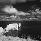 Old Harry Rocks by Inspired-Images