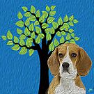 Beagle Hopper by doggylips