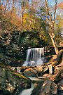 Big Autumn View at B. Reynolds Falls by Gene Walls
