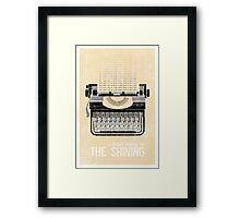 The Shining Minimalist Print  Framed Print