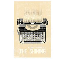The Shining Minimalist Print  Photographic Print