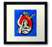Viva Los Monstruos Framed Print