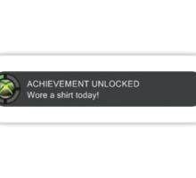 Xbox Achievement Unlocked Sticker