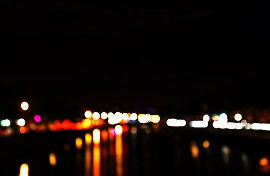 Liffey Night Lights by Denise Abé