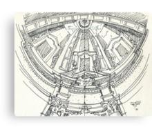 iPad case, Ipad deflector. mafra convent dome Canvas Print