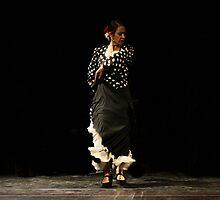Toca Flamenco Black Frill by bedoubleyou