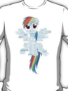 I am a brony because... T-Shirt