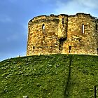 Clifford's Tower by hans p olsen