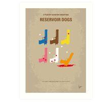No069 My Reservoir Dogs minimal movie poster Art Print