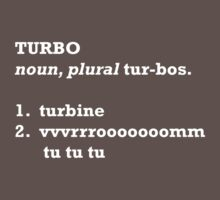 Turbo Defined. by tomj