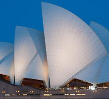 Sydney Opera House in Spring by Skye24Blue