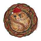 Holiday Dormouse ~ Season&#x27;s Greetings! by Tamara Clark