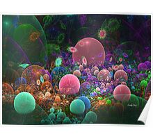 Fantasia Bubble Garden Poster