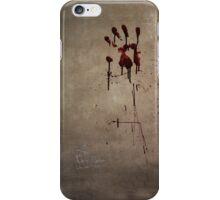 Zombie Attack Bloodprint - Halloween iPhone Case/Skin