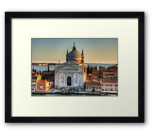 Il Redentore Framed Print
