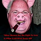 The Misogynist Pig by FloraDiabla