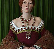 A Tudor Lady by marksatchwillart