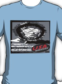 usa warriors eskimo by rogers bros T-Shirt