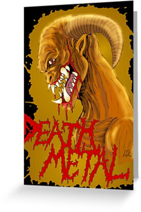 Death Metal Monster by Luke Kegley